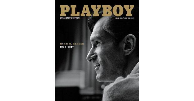 Ένας άντρας στο εξώφυλλο του Playboy για πρώτη φορά στην ιστορία του περιοδικού