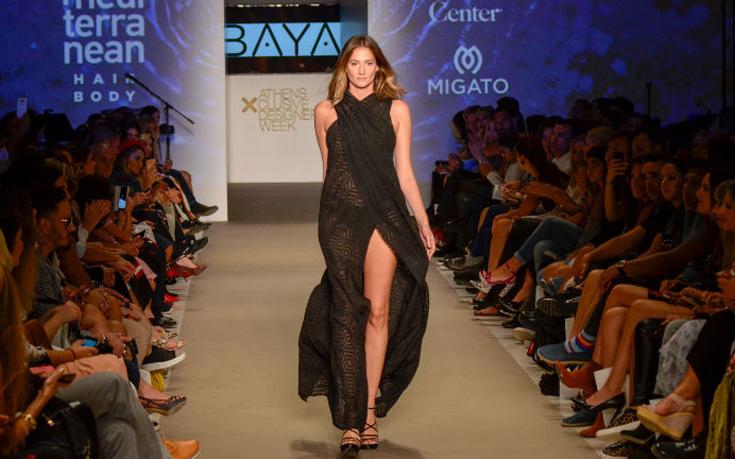 Το ελληνικό brand BAYA στην 22η Athens Xclusive Designers Week