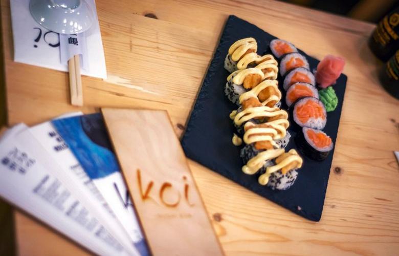Koi, το sushi bar που έγινε αγαπημένη συνήθεια