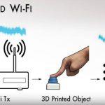 Πλαστικά από 3D εκτυπωτή χρησιμοποιούν Wi-Fi χωρίς ηλεκτρονικά εξαρτήματα