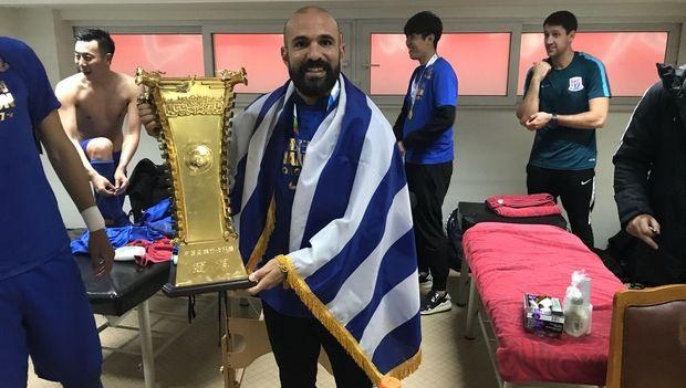 Παναγιώτης Βούλγαρης: Από γυμναστής της ΑΕΚ... Κυπελλούχος Κίνας