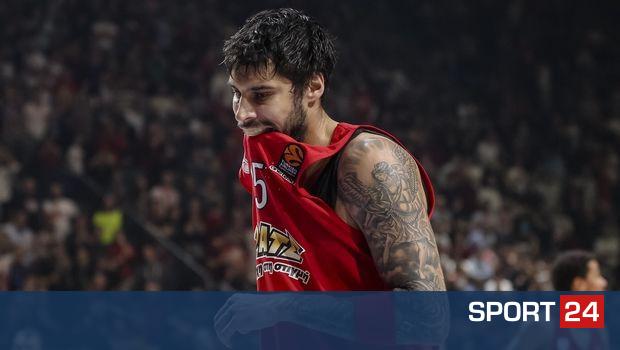 Πισωγύρισμα για Ολυμπιακό, έχασε  89-78 στο Βελιγράδι