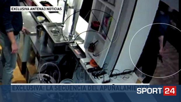 Το πρώτο video από την επίθεση με μαχαίρι σε οπαδό της Ατλέτικο