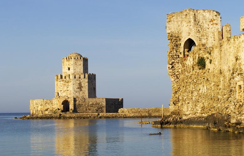 Το υπέροχο κάστρο της Μεθώνης