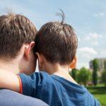 bigstock Father And Son On A City Backg 65170369 1