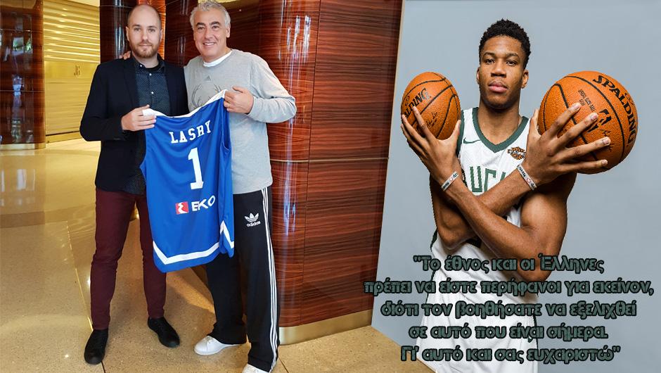 """Ο Marc Lasry στο NBA Greece: """"Σπουδαία ιδέα να παίξουν οι Bucks σε ανοιχτό χώρο στην Αθήνα"""""""