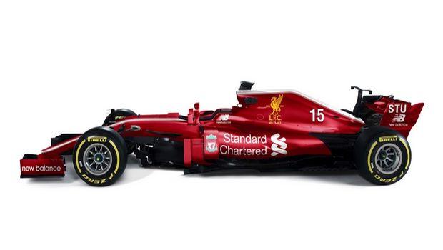 Liverpool F1 car Clean