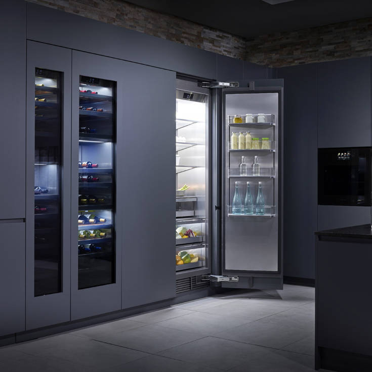 LG SIGNATURE KITCHEN SUITE Refrigerator Wine Cellar 1