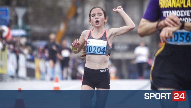 Μαραθώνιος Αθήνας: Η 13χρονη τρέλανε και πάλι τα χρονόμετρα