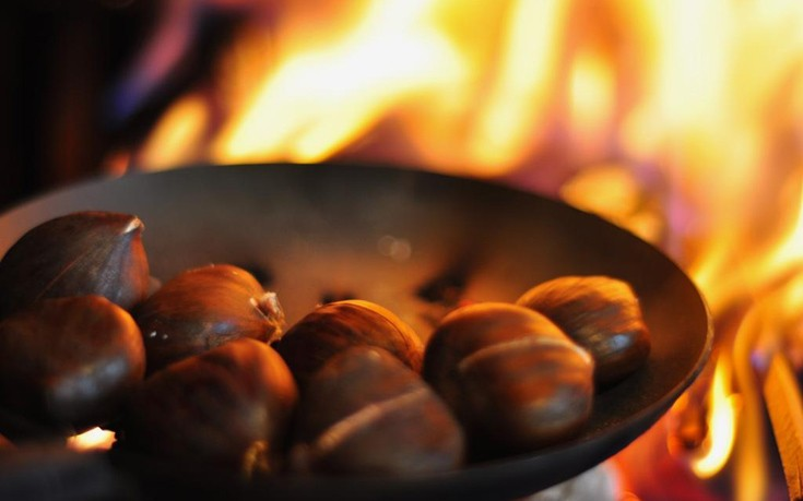 Chestnuts Roasting On An Open Fire 1