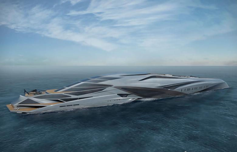 Το superyacht που περιμένει 800 εκατομμύρια για να γίνει πραγματικότητα