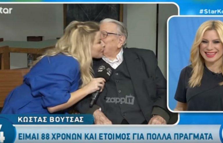 Προσπάθησε να φιλήσει στο στόμα δημοσιογράφο ο Κώστας Βουτσάς
