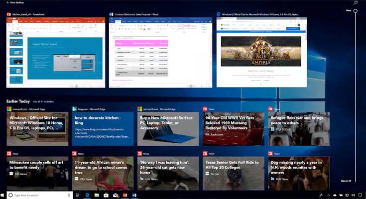 Μια χρήσιμη λειτουργία των Windows 10
