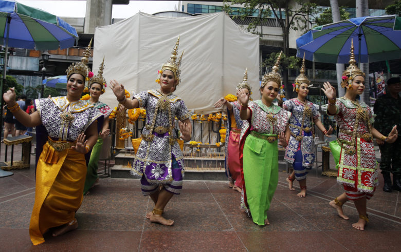 Ταϊλανδοί γιόρτασαν στην Κέρκυρα την Πρωτοχρονιά για το έτος 2562