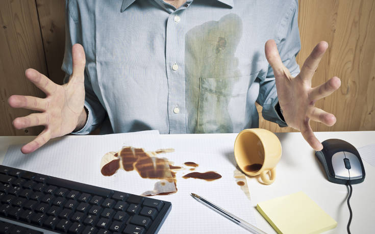 Πώς να εξαφανίσετε τον λεκέ από καφέ