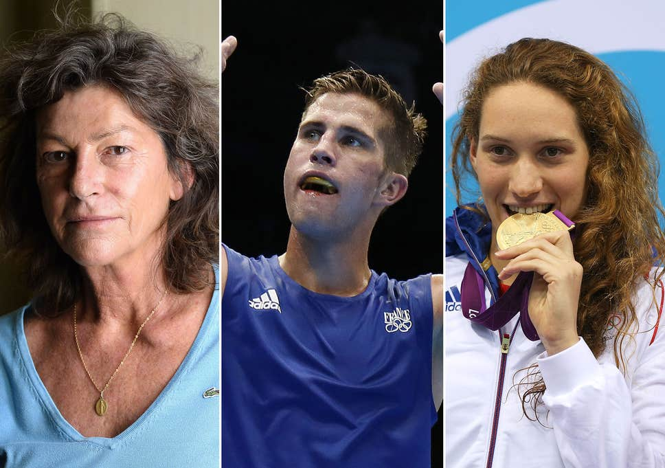 French sporting stars