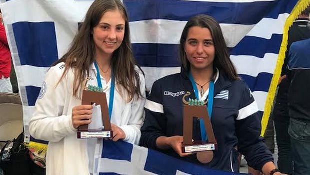 Ιστιοπλοία: Χάλκινο μετάλλιο για Παππά -Τσαμοπούλου στο Πανευρωπαϊκό U19
