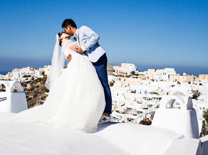 Η Ελλάδα στις πρώτες επιλογές για γαμήλια ταξίδια
