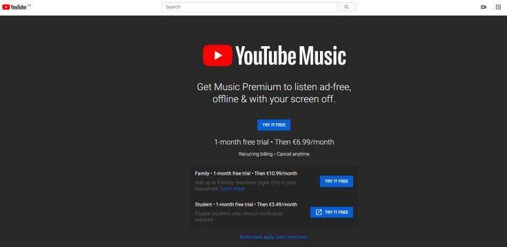 Η συνδρομή στο YouTube για να μην έχουμε παύσεις και διαφημίσεις