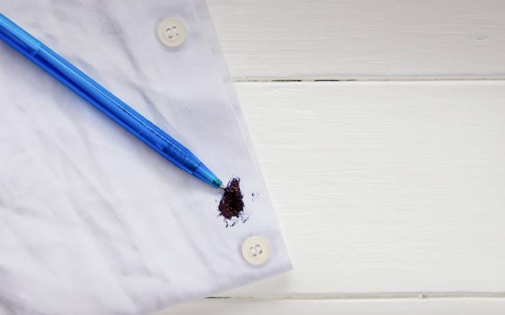 Οι τρεις σημαντικοί κανόνες για να φεύγουν οι λεκέδες από τα ρούχα