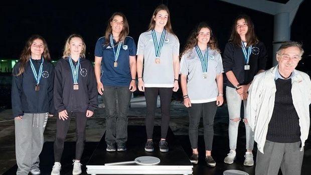 Χρυσές οι Παππά-Τσαμοπούλου στο 29ο Athens International Sailing Week 2019