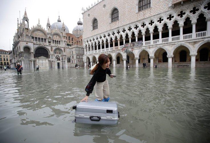 Μαζικές ακυρώσεις στα ξενοδοχεία της Βενετίας