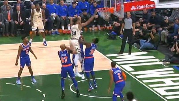 NBA: Τρομακτικός Greek Freak στην κορυφή του Top-5