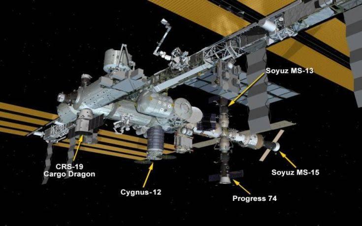 Συνωστισμός στον Διεθνή Διαστημικό Σταθμό: Πέντε σκάφη έχουν δέσει ταυτόχρονα
