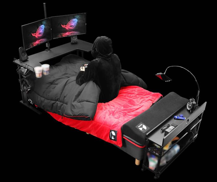 Ξεχάστε τις gaming πολυθρόνες, ήρθαν τα gaming… κρεβάτια