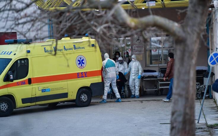 Κορονοϊός στην Ελλάδα: 54 νεκροί – Κατέληξε 66χρονος στην Πέλλα