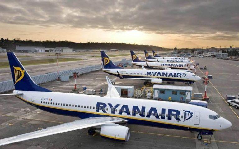 Κοροναϊός: Βουτιά 99,6% στους επιβάτες τον Απρίλιο για την Ryanair
