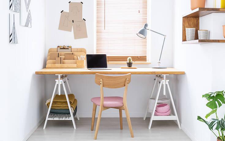Το ιδανικό χρώμα για να βάψετε το χώρο του γραφείου στο σπίτι