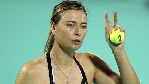 Η Maria Sharapova προπονείται στην πυγμαχία