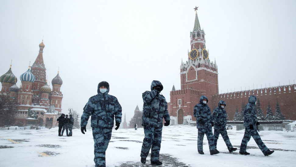 moscow snow russia23 ap