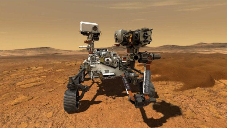 Εμπρός, Mars: Τα πρώτα «βήματα» του Perseverance στον Άρη – Ποια συγγραφέα τίμησε η NASA