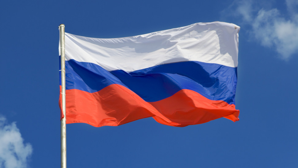 st russia flag