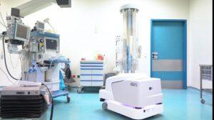 Το ρομπότ Τάλως ανέλαβε καθήκοντα απολύμανσης στο Παπαγεωργίου