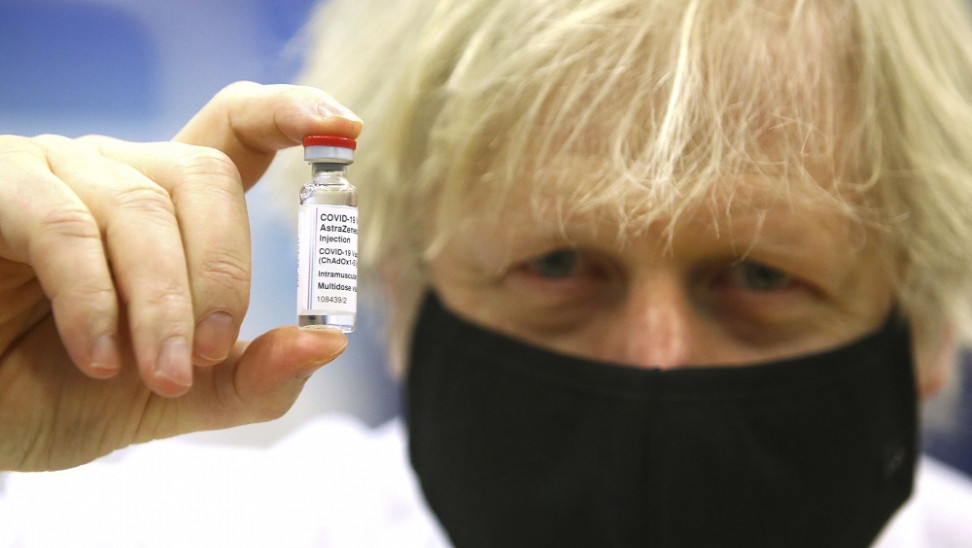 boris johnson vaccine ap