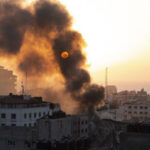 gaza on fire 2021 ap 1