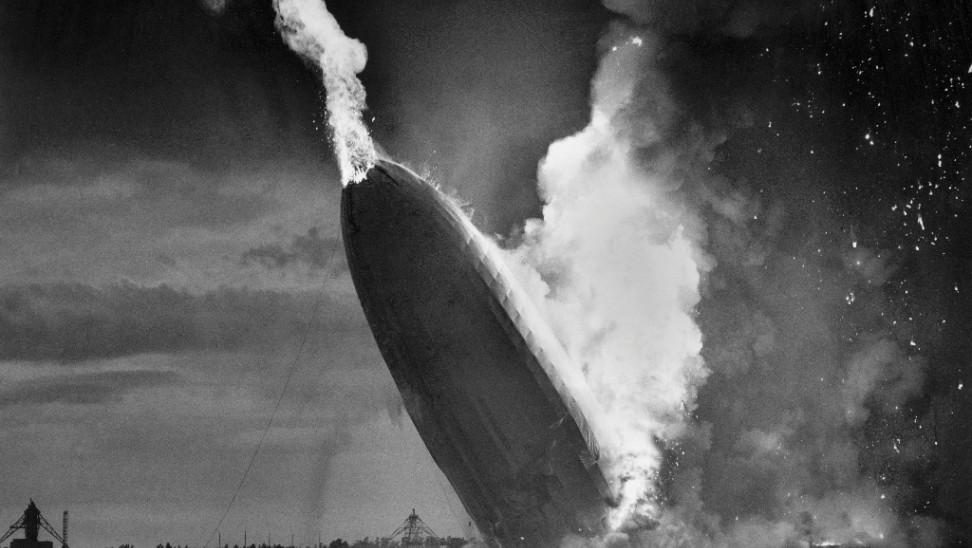 hindenburg airplane crash disaster 1937 ap