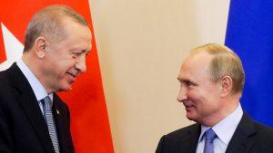 Πούτιν και Ερντογάν συζήτησαν για την παραγωγή του ρωσικού εμβολίου Sputnik-V στην Τουρκία