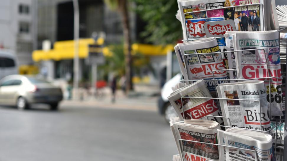 turkey newspaper shutterstock