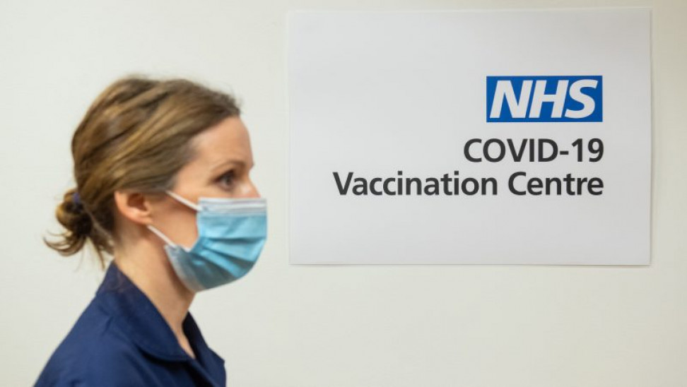 nhs vaccination centre epa