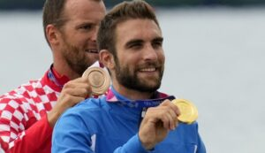 Ο Χρυσός Ολυμπιονίκης Στέφανος Ντούσκος LIVE στο SPORT24