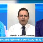 Γεωργαντάς- ΣΚΑΪ: Πόσα Freedom Pass ενεργοποιήθηκαν- Η κινητικότητα για εμβόλιο σε άνω 12