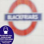 london metro mask covid ap